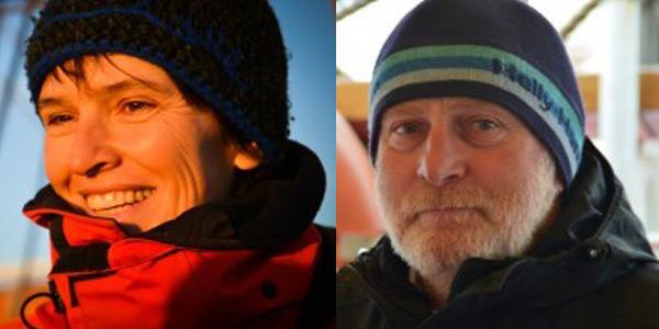 Dr. Ruth Merk und Detlev Soitzek